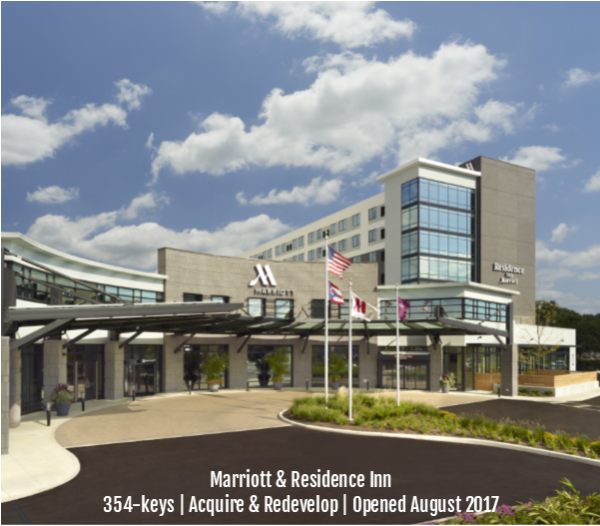 Marriott Hotel & Residence Inn - Columbus, OH University Area